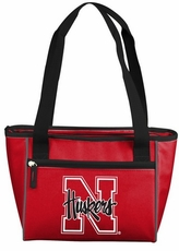 Nebraska Huskers 16 Can Cooler Tote