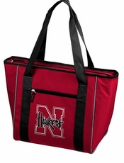 Nebraska Huskers 30 Can Cooler Tote