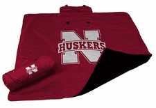 Nebraska Huskers All Weather Blanket