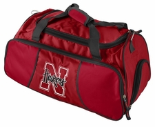 Nebraska Huskers Athletic Duffel Bag