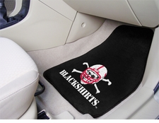 Nebraska Huskers Blackshirts 2-Piece Carpeted Car Mats Front Set