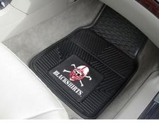 Nebraska Huskers Blackshirts 2-Piece Heavy Duty Vinyl Car Mat Set