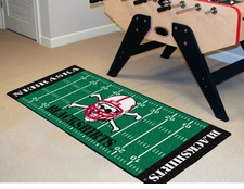 "Nebraska Huskers Blackshirts Football Runner 30""x72"" Floor Mat"