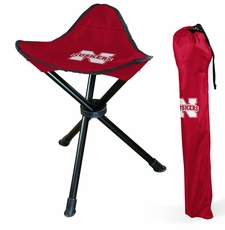 Nebraska Huskers Folding Stool