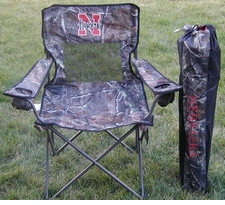 Nebraska Huskers Realtree Camo Mesh Chair