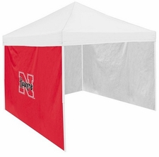 Nebraska Huskers Red Side Panel for Logo Tents