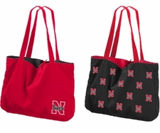 Nebraska Huskers Reversible Tote Bag