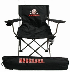 Nebraska Huskers Rivalry Blackshirts Adult Chair