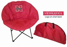 Nebraska Huskers Round Sphere Chair