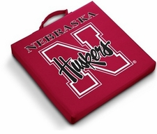Nebraska Huskers Stadium Seat Cushion