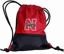 Nebraska Huskers String Pack / Backpack