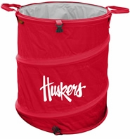 Nebraska Huskers Tailgate Trash Can / Cooler / Laundry Hamper