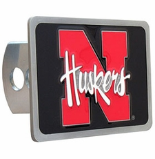 Nebraska Huskers Trailer Hitch Cover