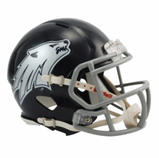 Nevada Wolfpack Navy Riddell Speed Mini Helmet