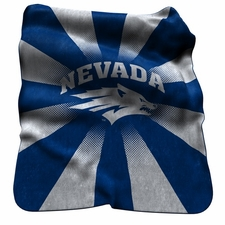 Nevada Wolfpack Raschel Throw