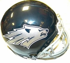 Nevada Wolfpack Riddell Replica Mini Helmet