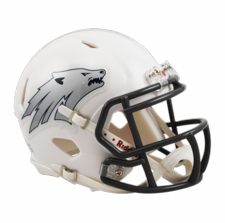Nevada Wolfpack White Riddell Speed Mini Helmet