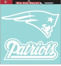 New England Patriots 18 x 18 Die-Cut Decal