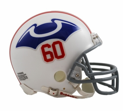 New England Patriots 1960 Throwback Replica Mini Helmet