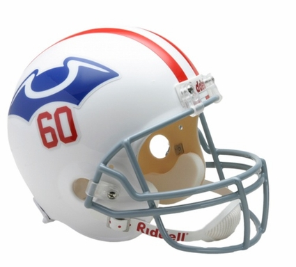 New England Patriots 1960 Throwback Riddell Deluxe Replica Helmet