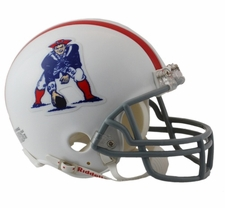 New England Patriots 1961-64 Throwback Replica Mini Helmet