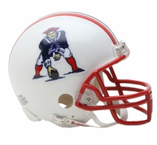 New England Patriots 1990-92 Throwback Replica Mini Helmet