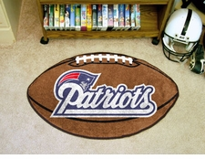 "New England Patriots 22""x35"" Football Floor Mat"