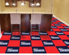 "New England Patriots Carpet Tiles - 20 18"" x 18"" Tiles"