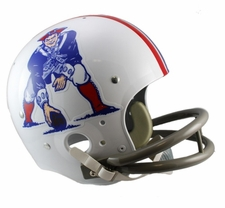 New England Patriots Classic TK 1965-81 Throwback Riddell Replica Helmet