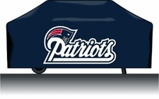 New England Patriots Deluxe Barbeque Grill Cover
