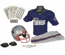 New England Patriots Deluxe Youth / Kids Football Uniform Set