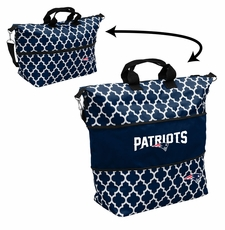 New England Patriots  - Expandable Tote (patterned)