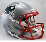 New England Patriots Full-Size Deluxe Replica Speed Helmet