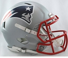 New England Patriots Revolution Speed Riddell Authentic Helmet