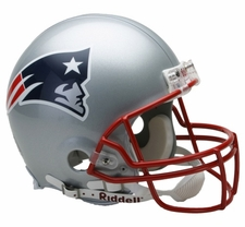 New England Patriots Riddell Full Size Authentic Helmet