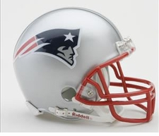 New England Patriots Riddell Replica Mini Helmet