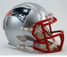 New England Patriots Speed Mini Helmet