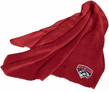 New Mexico Lobos Fleece Throw