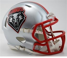 New Mexico Lobos Riddell Speed Mini Helmet