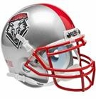 New Mexico Lobos Schutt Authentic Mini Helmet