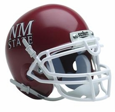 New Mexico State Aggies Schutt Authentic Mini Helmet