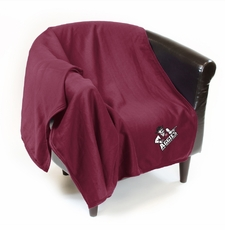 New Mexico State Aggies Sweatshirt Throw Blanket