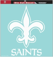 New Orleans Saints 18 x 18 Die-Cut Decal