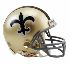 New Orleans Saints 1967-75 Throwback Replica Mini Helmet