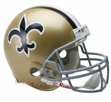 New Orleans Saints 1967-75 Throwback Riddell Pro Line Helmet