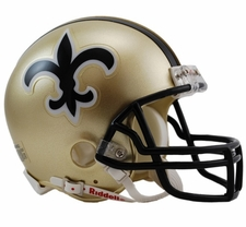 New Orleans Saints 1976-99 Throwback Replica Mini Helmet