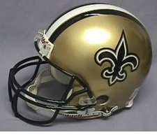 New Orleans Saints 1976-99 Throwback Riddell Pro Line Helmet