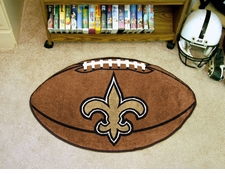 "New Orleans Saints 22""x35"" Football Floor Mat"
