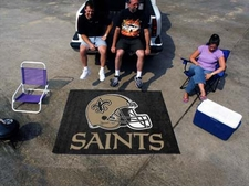 New Orleans Saints 5'x6' Tailgater Floor Mat