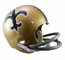 New Orleans Saints Classic TK 1967-75 Throwback Riddell Replica Helmet